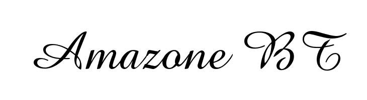 Amazone BT Font Free